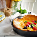 Dutch Baby met citroen en ricotta