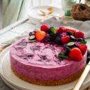 Cheesecake met bosvruchten