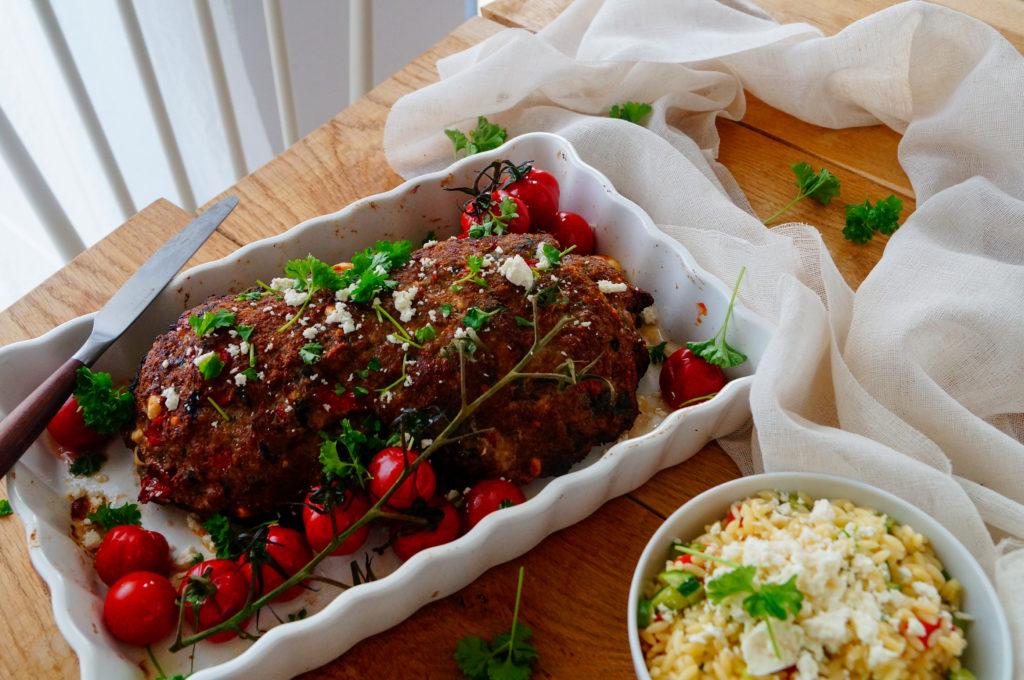Grieks gehaktbrood