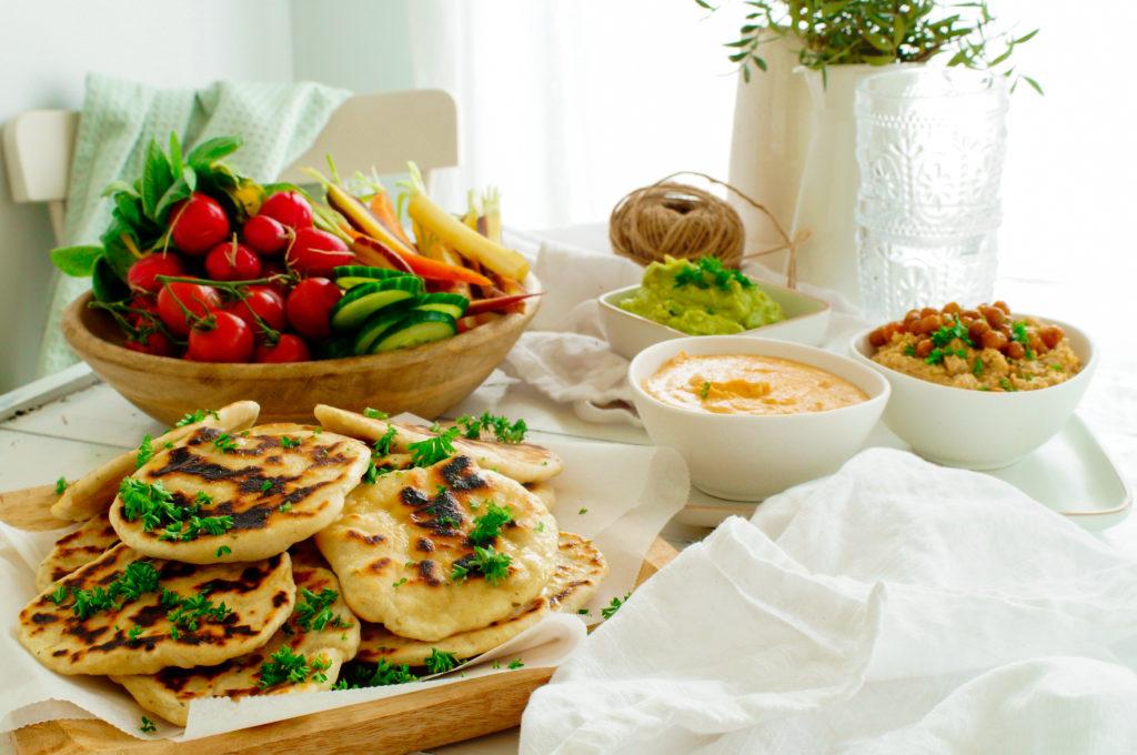 Naanbrood met za'atar