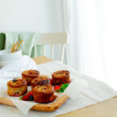 Havermoutmuffins met bessen
