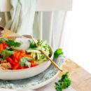 Spring roll bowl