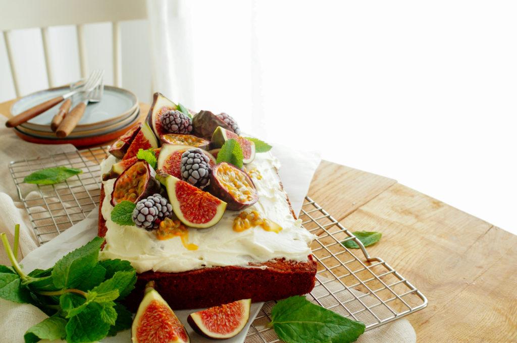 Cake met marsepein en mascarpone