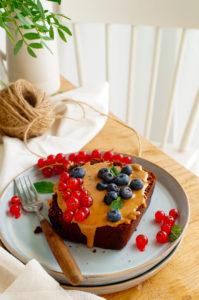 Chocoladecake met pompoen
