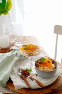 Tiramisu met speculaas en sinaasappel