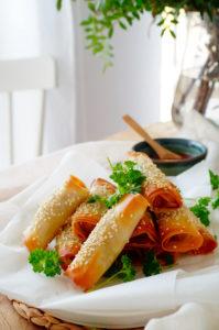 Thaïse worstenbroodjes
