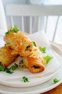 Vegetarische worstenbroodjes Vegetarische worstenbroodjes