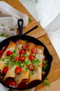 Enchiladas met surimi
