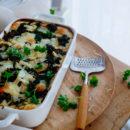 Groene lasagne