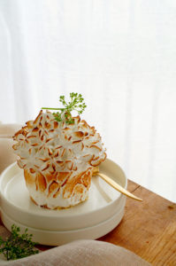 Citroen meringue cakejes