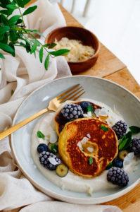 Pannenkoeken met ananas