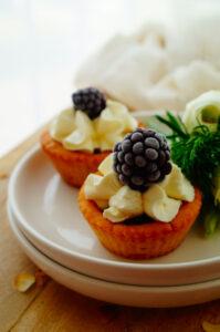 Cheesecake tartelettes