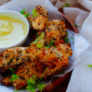 Chicken Nuggets met mosterddip