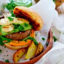 Midden-Oosterse hamburger