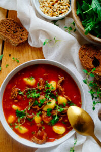 Gnocchi soep