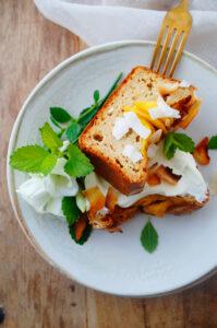 Ontbijtcake met mango