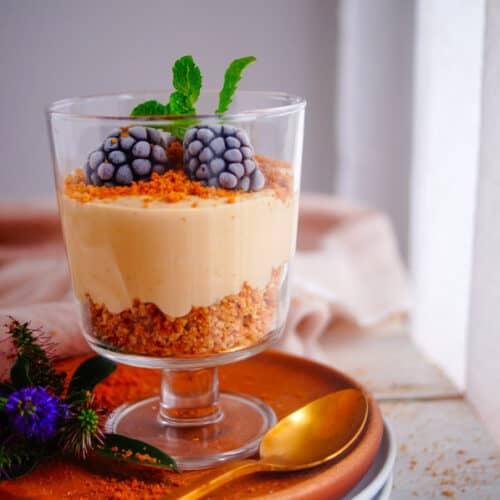 Ontbijt parfait met speculaas