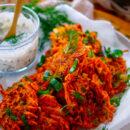 Zoete aardappelkoekjes - Snel, eenvoudig & voedzaam
